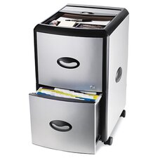 2-Drawer Mobile Filling Cabinet