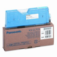 KXCLTC3 Toner Cartridge, 6000, Cyan