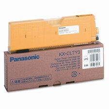 KXCLTY3 Toner Cartridge, 6000 Page Yield, Yellow