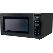 2.2 Cu. Ft. 1250 Watt Full Size Luxury Microwave Oven in Black