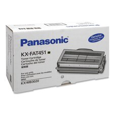 KXFAT451 Toner Cartridge, 5000 Page Yield, Black