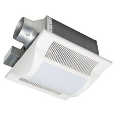 Whisper Fit-Lit 80 CFM Energy Star Bathroom Fan with Light