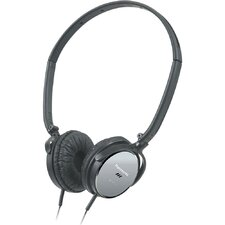 <strong>Panasonic®</strong> Lightweight On Ear Noise Canceling Headphones