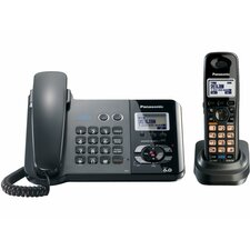 2-Line System Corded/Cordless Phone Set
