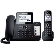 <strong>Panasonic®</strong> Dect 6.0 Plus Corded/Cordless Phone System