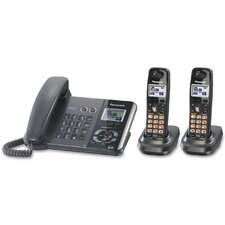 <strong>Panasonic®</strong> DECT 6.0 Two-Line Cordless Phone System