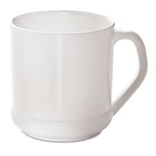 Naturehouse Reusable Mug, Squat Wide, 10 Oz