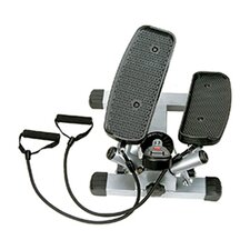 Twist Adjustable Mini Stepper w/ Exercise Bands