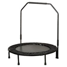 "40"" Foldable Trampoline with Stabilizing Bar"
