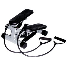<strong>Sunny Health & Fitness</strong> Mini Stepper w/ Resistant Bands