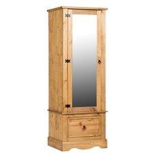 Corona 1 Mirrored Door Wardrobe Armoire