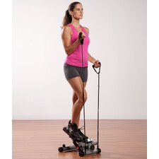 <strong>Pure Fitness</strong> Pure Fitness Mini Stepper w/ Stretch Cord