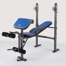 <strong>Pure Fitness</strong> Multi-Purpose Mid Weight Adjustable Olympic Bench