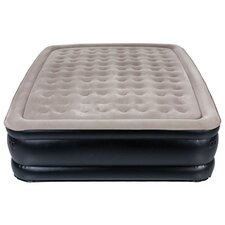 <strong>Pure Comfort</strong> Sharper Image Queen Accessory Pocket Raised Air Bed