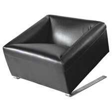 Quadrato Leather Box Chair