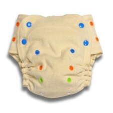 <strong>Babykicks</strong> Organic Fitted Diaper