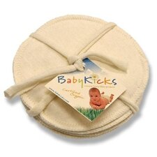 <strong>Babykicks</strong> Jersey Nursing Pads (Set of 3)