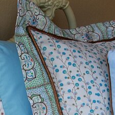 Modern Vintage Cotton Pillow Sham