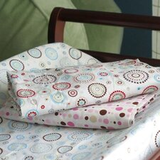 <strong>Caden Lane</strong> Pink Changing Pad Cover