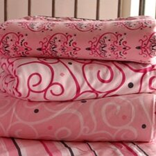 Luxe Pink Changing Pad Cover
