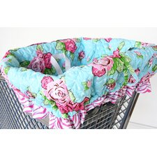 Boutique Rose Dot Shopping Cart Cover