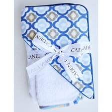 Ikat Mod Hooded Towel Set