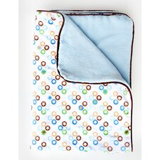<strong>Caden Lane</strong> Boutique Star Dot Piped Blanket
