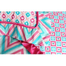 Ikat Girl Pillow Sham