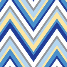 Ikat Chevron Changing Pad Cover