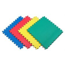 <strong>Norsk Floor</strong> Recyclamat Reversible Foam Mats in Multi-color (Pack of 4)