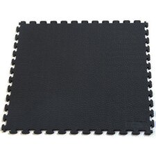 <strong>Norsk Floor</strong> Rhino-Tec Sport Multi-Purpose Garage PVC Floor Tile in Black (Pack of 6)