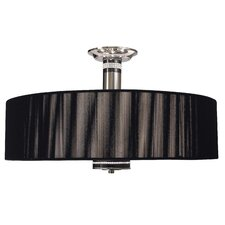 Princessa 3 Light Semi Flush Mount