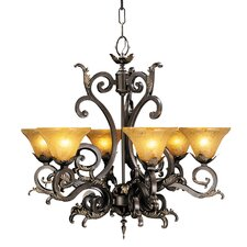 Palazzo 6 Light Dining Chandelier