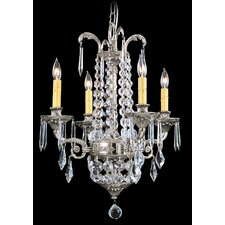 <strong>Framburg</strong> Baronness 4 Light Mini Chandelier