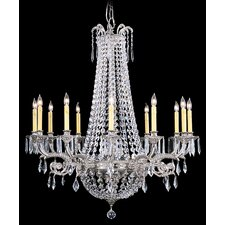 <strong>Framburg</strong> Baronness 12 Light Foyer Chandelier