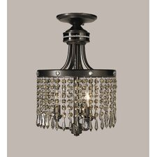 Empress 3 Light Semi Flush Mount