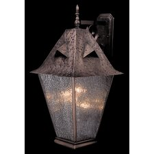 Fortress 4 Light Wall Lantern