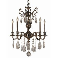 Sarabande 5 Light Dining Chandelier