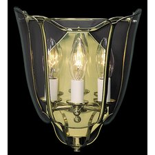 Yorkshire 3 Light Foyer Wall Sconce