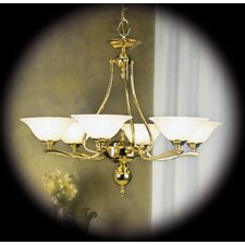 <strong>Framburg</strong> Fin De Siecle 6 Light Dining Chandelier