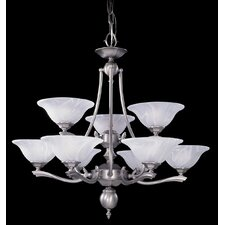 Fin De Siecle 9 Light Dining Chandelier