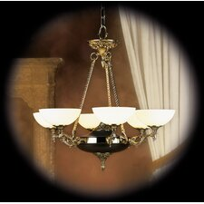 <strong>Framburg</strong> Napoleonic 6 Light Dining Chandelier