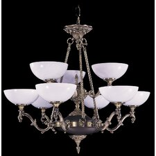 Napoleonic 9 Light Dining Chandelier
