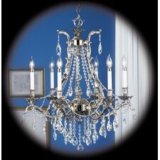 <strong>Framburg</strong> Vienna 6 Light Dining Chandelier