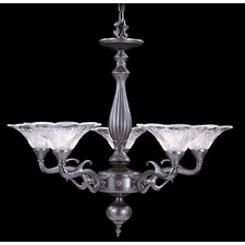 <strong>Framburg</strong> Geneva 5 Light Dining Chandelier
