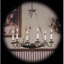 Napoleonic 6 Light Dining Chandelier