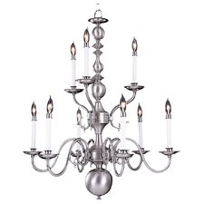 <strong>Framburg</strong> Jamestown 9 Light Dining Chandelier
