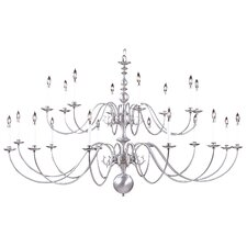 Jamestown 20 Light Foyer Chandelier