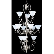 <strong>Framburg</strong> Forest 12 Light Foyer Chandelier