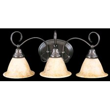 <strong>Framburg</strong> Black Forest 3 Light Vanity Light